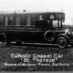 Motor chapel cars and trailers