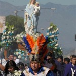 Public tribute to Mary in the heart of L.A.