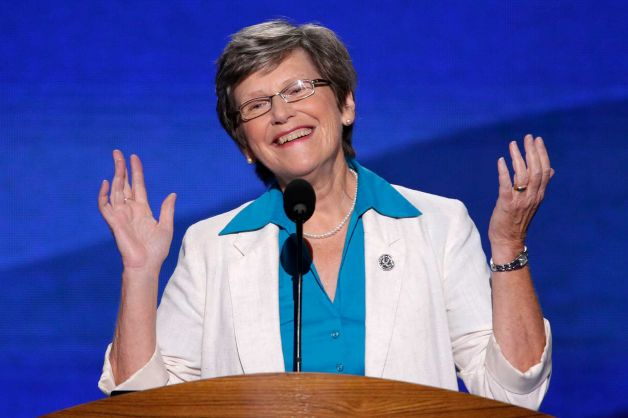 Sister Simone addresses the 2012 Democratic National Convention