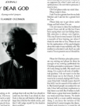 Flannery O'Connor in this week's New Yorker