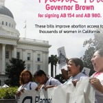 Governor Brown hailed by Planned Parenthood