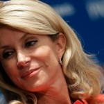 Wendy Davis greeted by Abortion Barbie posters in Los Angeles