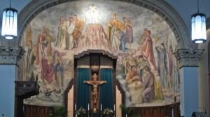 Altar mural