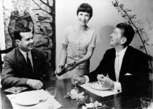 Dinner at the Clarks, Oxnard, 1966