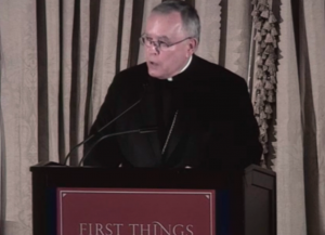 Archbishop Chaput at First Things talk