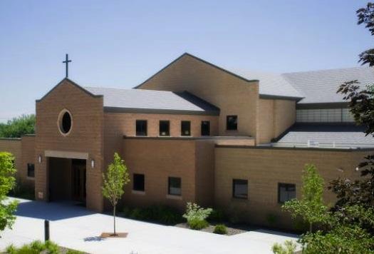St. James the Just Church, Ogden, UT, exterior