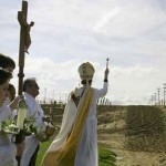 Sacramental wine from sacred ground