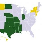 Most pro-life states