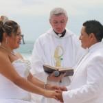 """Transgender couple celebrates """"Catholic"""" wedding"""