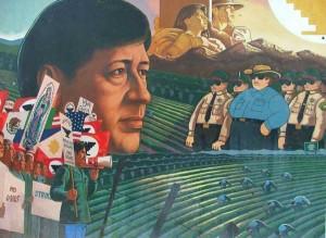 Cesar Chavez mural in San Fernando ('I am San Fernando' blog)