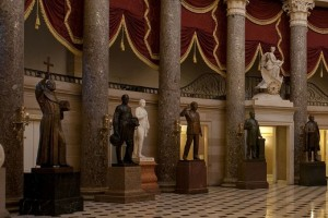 Statue of Junipero Serra in the nation's capitol (Catholic News Agency)