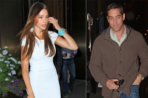 Sofia Vergara and former fiance Nick Loeb (photo: In Touch Weekly)