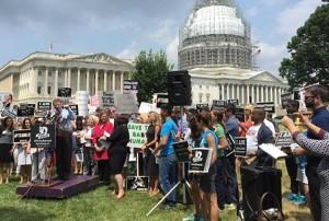 "Senator Rand Paul, R-Ky., speaks at ""Women Betrayed"" rally in Washington, D.C."