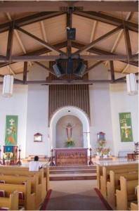 St. Joseph Church, Pinole, CA, interior