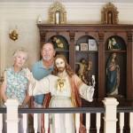 Jesus statues everywhere