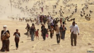 Religious minorities, including Iraq's Yazidis and Chaldean Catholics, have been targeted by Islamic State. (photo: Reuters)