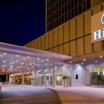 Hilton gets a high-five