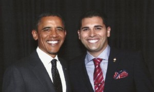 "Barrack Obama and Mark Arabo. Arabo said that ""Obama is failing on this issue completely""."