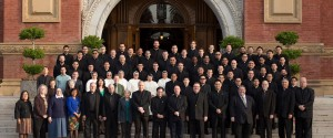 Prospective seminarians (and a few others) (photo from stpatricksseminary.org)