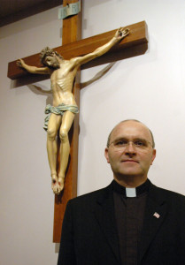 Father Vince Lampert (photo from October 30 Christian Review article)