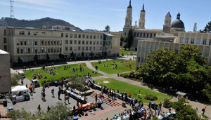University of San Francisco campus (photo from englishusa.org)