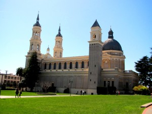 St. Ignatius Church on the University of San Francisco campus