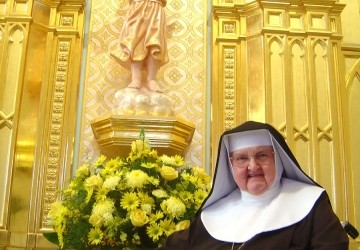 Mother Angelica (photo from Our Lady of Angels Monastery)