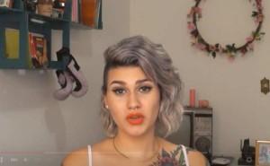 Screenshot from Sara Giromin's video