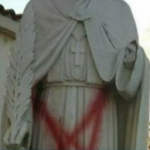 Vandals target largest Catholic church in Los Angeles