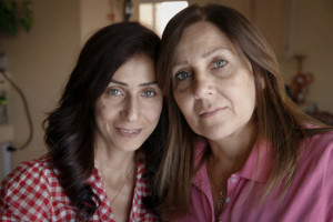 Chaldean Catholics Zinah Marzana and her mother, Victoria, live in Gilbert, Arizona. (photo: Nancy Wiechec)