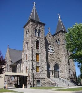 Exterior of St. Francis de Sales Cathedral
