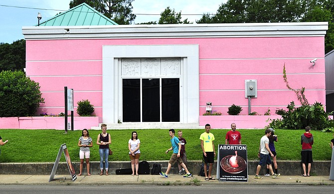 A new report says the rate of abortion is down across the nation. This includes Mississippi, where the state's only abortion clinic (pictured), is fighting a 2012 law requiring abortion doctors to have local admitting privileges. (Photo by Trip Burns)