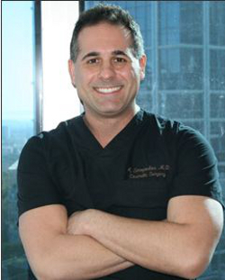 The abortionist on duty during the most recent incident was Alexander Simopoulos, a Beverly Hills based cosmetic surgeon who specializes in female genital cosmetic surgery, vaginal reconstruction, and other plastic/cosmetic surgeries for celebrities and others. Simopoulos has appeared in a television episode of Bravo's Millionaire Matchmaker, where he confessed that most of his relationships with women are based on sex. (photo from hotfrog.com)