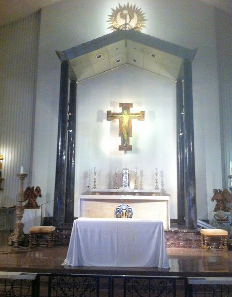 Interior of St. Victor, West Hollywood.