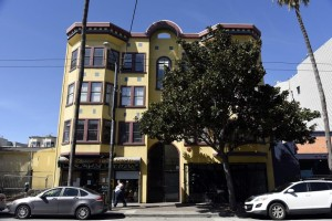 The building at 1930 Mission St. where nuns of the Fraternite Notre Dame Mary of Nazareth Soup Kitchen will relocate after they were evicted from their former location on Turk Street (Photo: Michael Short, Special To The Chronicle)