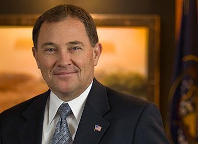 Governor Gary Herbert of Utah (photo from Gretawire)