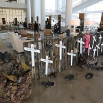 Migrant Stations of the Cross exhibited at Christ Cathedral