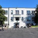 Bishop Brennan blesses St. Monica Academy's new campus