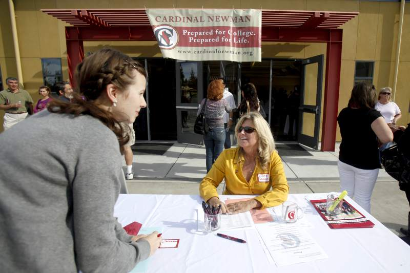 (The sharp decline in enrollment in Sonoma County's Christian schools is partly due to recession and the increase in charter schools and homeschool alternatives. (Beth Schlanker/The Press Democrat)
