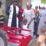 San Francisco parish ships tractor to Tanzania