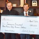 $350,000 gives boost to seminarian education