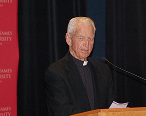 Bishop Emeritus John S. Cummins (photo from Holy Names University story)