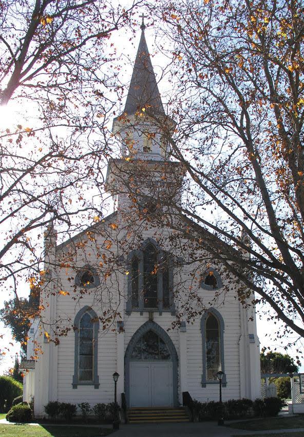 Sacred Heart Church in Hollister, CA