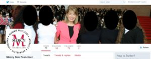 Speier on Mercy High Twitter page