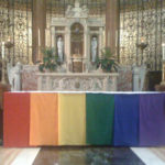 Why does the L.A. archdiocese not encourage celibacy for gays?