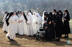 The Norbertine Monastery in the Tehachapi Mountains had a groundbreaking and open house in March 2012. The organization had grown from five to 25 nuns, and they had been living in small modular trailers which were aged, so they built new facilities. (photo from Bakersfield.com)