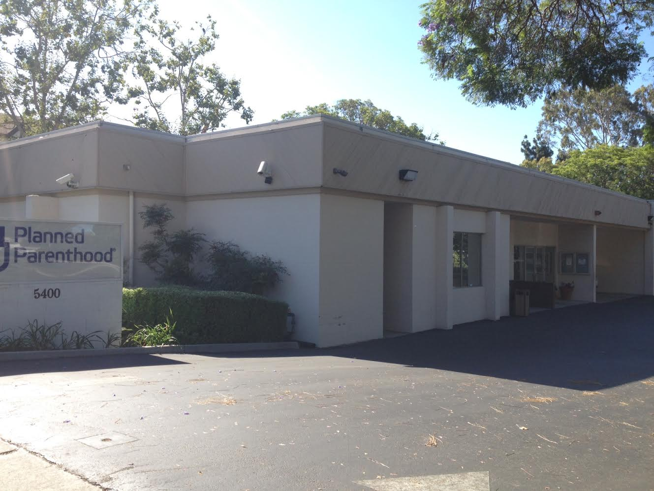 The Planned Parenthood abortion clinic on Ralston Street and Saratoga Avenue in Ventura.