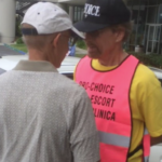 Police watch video, warn abortion escorts