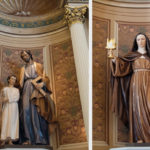 New statues at San Jose cathedral