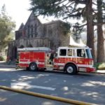 Arson at downtown Santa Rosa church